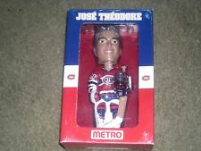 Jose Theodore Florida Panthers Autographed  Montreal Canadiens Bobblehead COA