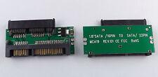 Mini mSATA 1,8 micro a/a SATA 2,5 7+15 convertidor mini disco duro adaptador