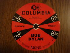 BOB DYLAN STICKER FROM RECORD STORE DAY 2011