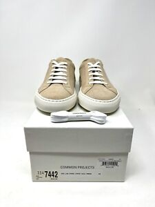 Common Projects Achilles Low Amber 2251 - Sz 40 / 7US Brand With Original Box