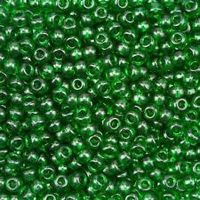 Miyuki tamaño 6/0 Redondo Semilla Cuentas 4mm Verde Transparente Tubo 20g (B58/12)