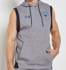 Men's Under Armour Project Rock All Day Hustle Sleeveless Hoodie Size Large