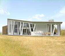1420 Sqft Eco Solid Timber Airtight Clt Panel House Kit Mass Wood Home Prefab