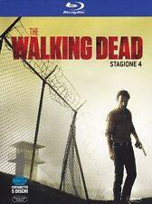 THE WALKING DEAD - STAGIONE 4 - 5 BLU-RAY - COFANETTO NUOVO, ORIGINALE