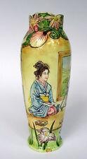 Jugendstil Vase Japan um 1890 Fayence