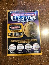 TRISTAR Hidden Treasures Autographed Baseball NEW/SEALED