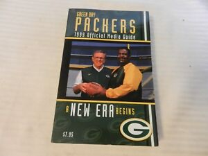 1999 Green Bay Packers Official Media Guide Book Ron Wolf, Ray Rhodes on cover