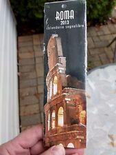 2013 Italian Bookmarks Rome Calendar Made in Italy Set of 12 Scenic Landmarks