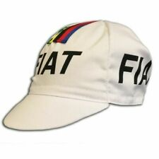 FIAT RETRO VINTAGE CYCLING TEAM MADE ITALY SUMMER UNER HELMET BIKE HAT CAP