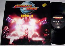 FREHLEY'S COMET - LIVE + 1 - LP - Vinyl - 1988