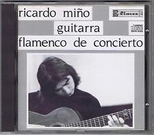 CD FLAMENCO DE CONCIERTO RICARDO MINO GUITARRA