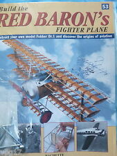 BUILD THE RED BARON'S FIGHTER PLANE FOKKER DR1  HACHETTE  ISSUE 53  NEW SEALED