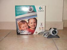 Logitech QuickCam Messenger. VGA(640x480) webcam