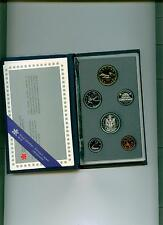 1989 CANADA SPECIMEN SET  Uncirculated with COA and case of issue