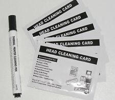 impresora de Tarjetas & Cabezal impresión Kit limpieza - 10 HQ + IPA Hisopo