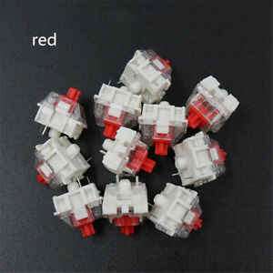 100Pcs Mechanical Keyboard Key Switch For CIY Sockets SMD 3pin With MX Switch