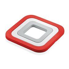 Fratelli Guzzini Kitchen Active Design Set sottopentole Pa-silicone Rosso 15 x