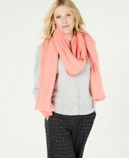 Charter Club Pure Cashmere Watermelon Sorbet Oversized Scarf $169