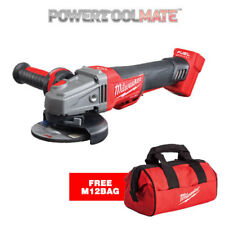 Milwaukee M18 Fuel M18CAG115XPDB-0 115mm Angle Grinder 18v with Free M12 Bag