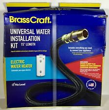 "BrassCraft Universal Water Installation Kit 15"" Length for Electric Water Heater"