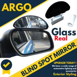 New Universal Blind Spot Mirror Wide Angle Rear Side View For Vehicle Car Truck