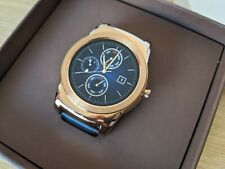 LG Watch Urbane W150 46mm Stainless Steel Gold Leather Band