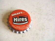 BOTTLE CAP DRAFT UNUSED HIRES ROOT BEER CORK LINED CAPE GIRARDEAU MO