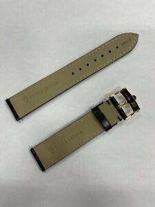 Rolex Tudor 20mm Leather Band Strap Belt Rubber Bracelet Buckle Watch A94