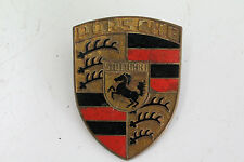 Porsche 911 912 F Modell SWB Hauben Emblem Original Hood Badge orange