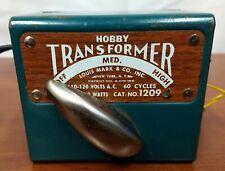 Vintage Louis Marx 110 120 Volts 60 Cycles 50 Watts Hobby TRAIN TRANSFORMER 1209