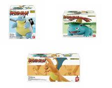 Pokemon Scale World Kanto Region Venusaur Charizard Blastoise set of 3 Bandai