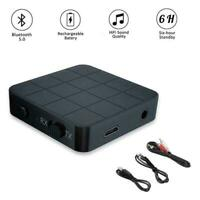 2in1 Bluetooth 5.0 Wireless Audio Transmitter Receiver AUX. RCA Adapter Y8J8