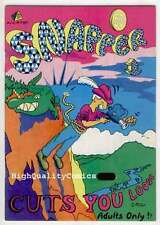 SNAPPER 1, FN+, Underground,1st, 1973, Artist at Large, Lexi