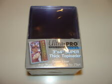 Brand New Ultra Pro Box of 25 Thick Toploaders 75 pt.To Loaders UV Protected New