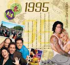 22nd Birthday or Anniversary Gift - 1995 Compilation Pop CD and Greetings Card