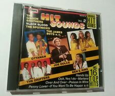 HITS SOUND VOL. 2 Oldies Greatest Hits Rock Pop 16 Track Album CD