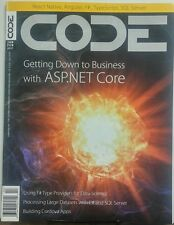 Code Jan Feb 2017 Getting Down to Business with ASP.NET Core FREE SHIPPING sb