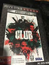 THE CLUB (PC-DVD ROM GAME)