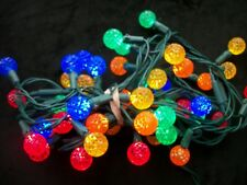Faceted Ball Reflector Cover Strand 50 Christmas Lights