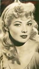Gene Tierney Original Blond Hair Photo