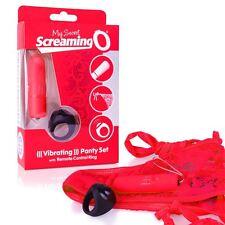 Red Vibrating Panties bullet mutandine vibranti wireless Remote Control Vibe