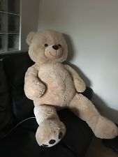 Bnwt KID Connection Beige Coloured Giant Teddy Bear Approx 53""