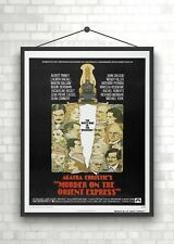 Murder On The Orient Express Vintage Classic Movie Poster Art Print A0 A1 A2 A3
