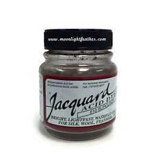 1/2 Oz Burgundy Jacquard Acid Dyes Feathers Wool cashmere alpaca non-bleeding