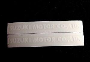 SUZUKI MOTOR CO.,LTD.  DECALS GT750 GT550 GT500 GT380 GT250 AND OTHER MODELS.
