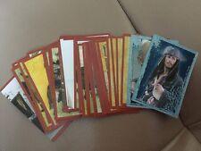 Lot de 48 stickers Panini Pirates Des Caraïbes