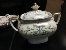 Porcelain Epiag Union K Czech Republic covered sugar bowl