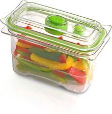FoodSaver aliments frais Vide Conteneur de stockage, 475 ml, Bpa-Free, Empilable...