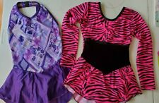 Girls Ice Skating/Figure Skating Dresses - Size 10 And 12