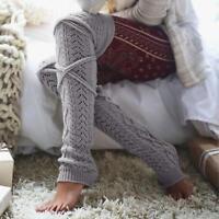 Girls Ladies Women Thigh High OVER the KNEE Socks Long Cotton Stockings Warm